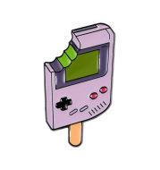 Popsicle Game Machine Dripping Brooch Creative Student Cartoon Badge Shirt Collar Pin