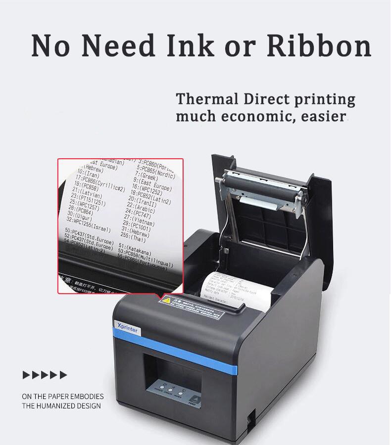 XP-N160II Thermal receipt Printer