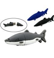 Cartoon Shark USB Flash Drive Creative Simulation Animation USB Flash Drive 8g16g Marine Animals