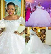 Pregnant Women Princess Wedding Dress Wedding Plus Size Tail Wedding Dress