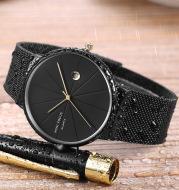 Wrist Watches Japanese Movement Calendar Waterproof Fine Steel Mesh Belt 0176g
