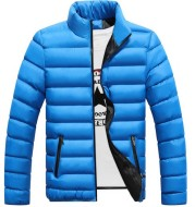 Fall Winter Padded Jacket Stand-Collar Down Jacket Men'S Self-Cultivation To Keep Warm