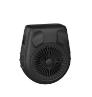 Small Carry-on Waist Hanging Fan, Rechargeable Mini Hanging Neck Fan