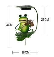 Solar Lamp Outdoor Lawn Lamp Lawn Lamp Ground Plug Lamp Frog Garden Decoration Lamp