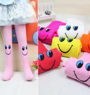 Smiley Pattern Children'S Pantyhose