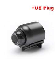 1080P Hd Night Vision Small Monitor Wireless Wifi Remote Surveillance Camera Home Network Camera
