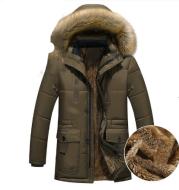 Down Parka Men Winter Jacket Hooded Down Coat