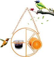 Simple Outdoor Bird Feeding And Water Feeding