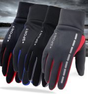 Outdoor Driving Men's Sports Fitness Autumn And Winter Cycling Gloves