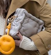 Soft Cotton Three-Dimensional Pattern Cute Brick Shoulder Bag Messenger Bag