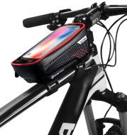 Hard shell bicycle bag mountain bike front beam bag top tube mobile phone bag saddle bag
