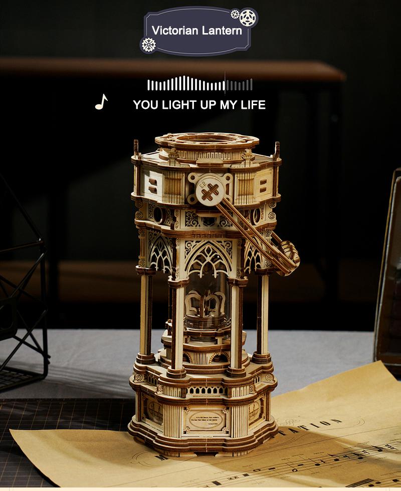 DIY Music Box - Model Building Kit 12