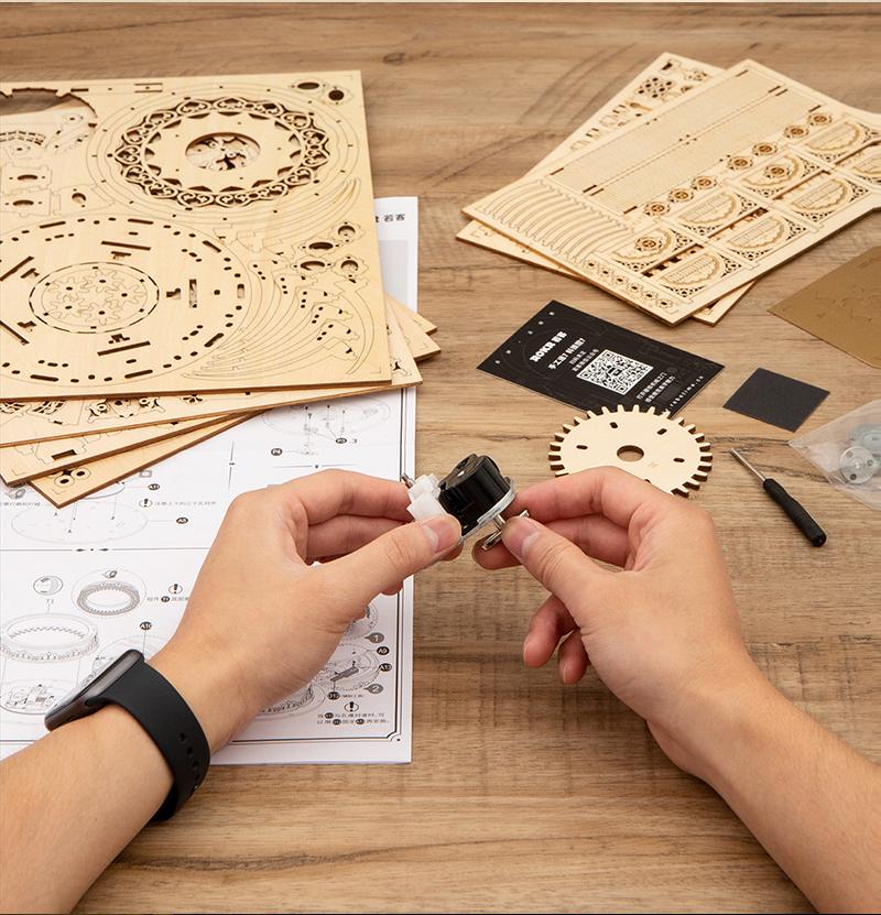 DIY Music Box - Model Building Kit 13