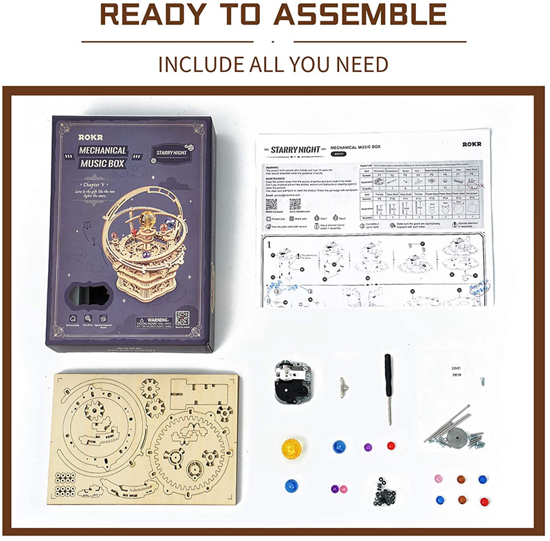 DIY Music Box - Model Building Kit 15