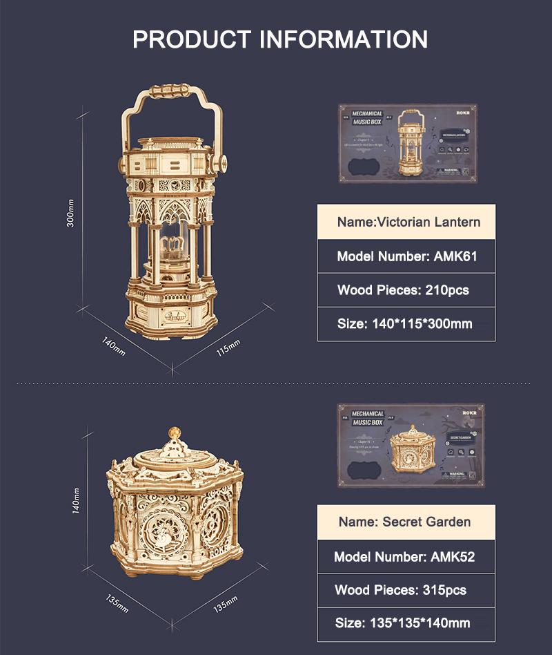 DIY Music Box - Model Building Kit 23