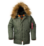 Aviator Air Force Coat Men'S Coat Winter Jacket Hooded Thicken Couple Mid-Length Quilted Jacket