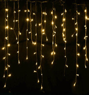 Led Starry Icicle Light String
