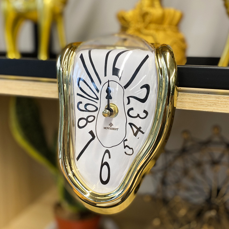 Novel Melting Clock - Surrealist Salvador Dali Style Clock 8