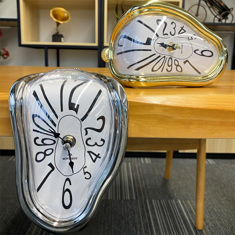 Novel Melting Clock - Surrealist Salvador Dali Style Clock 7