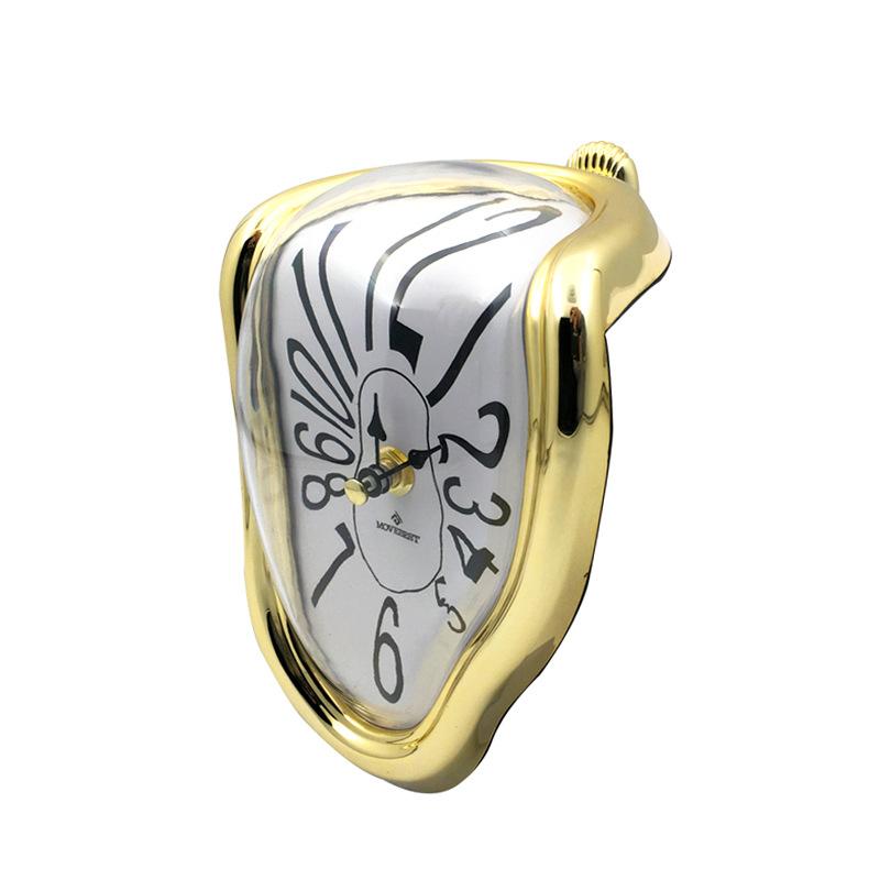 Novel Melting Clock - Surrealist Salvador Dali Style Clock 11