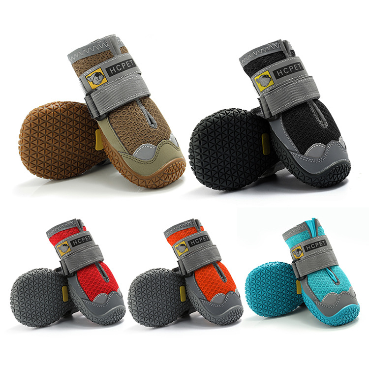 DogMEGA Boots Paw Protector   Anti-Slip Breathable Dog Shoes for Small Medium Large Dogs