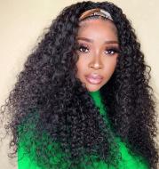 Hair Band Wig Ladies Chemical Fiber Wig