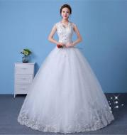 Wedding Dress Bridal Sleeves Wedding Wedding Dress Was Thin And Thin