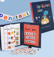 Primary School Students' Magnetic Spelling Of Words And English Letters Teaching Exercise Book