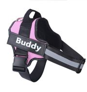 Personalized Dog Harness No Pull Reflective Breathable Adjustable Pet Harness For Small Large Dog Harness Vest With Custom