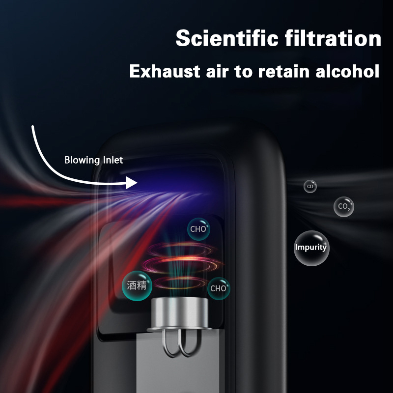 Drunk Driving And Blowing Detector