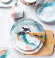 Ceramic Tableware Nordic Dishes, Dishes