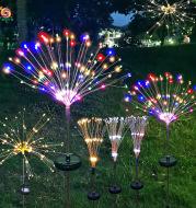 Firework Lights Christmas Outdoor Led Holiday Sky Starry Lights