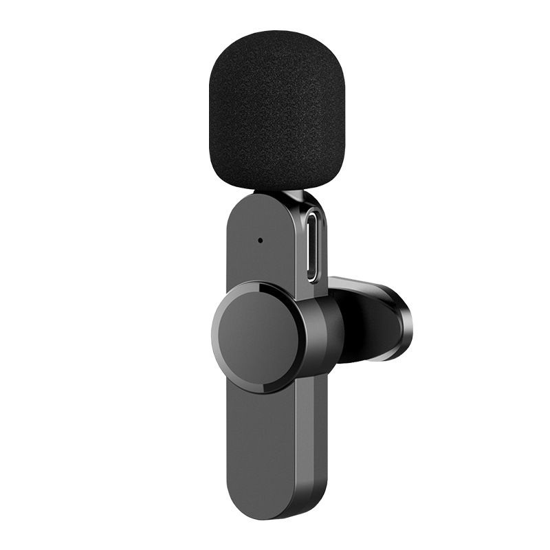 Creative Clip-on Wireless Radio Microphone For Recording, Conferences, Interviews