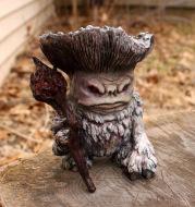 Mushroom  Elf Shaman Sorcerer Troll Resin Crafts