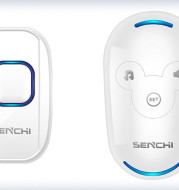 Remote Control Electronic Doorbell Caller For The Elderly