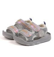 Lala Pig Summer Male Baby Functional Walking Shoes Female Baby Soft Bottom Sandals Children''S Light Shoes