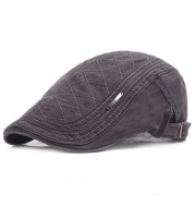 Men'S Monochrome Beret Youth Leisure Outing