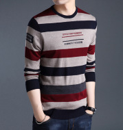 Men'S Long-Sleeved T-Shirts Men'S Bottoming Shirt Casual Round Neck