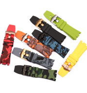 Rubber Strap Men's And Women's Watch Accessories