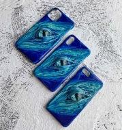 Creative Simple Gradient Stereo Phone Case