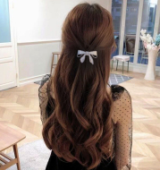 Japanese And Korean Sweet Pearl Bow Hairpin