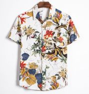 European And American Foreign Trade Hot Style Hawaii Vacation Short Sleeve