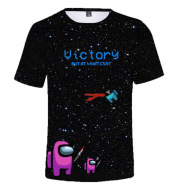 T-shirt New D Among Us Kids T-Shirt Print Girls Funny Clothes