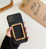 Mobile Phone Case Fine Hole Square Buckle Liquid