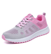 New Style Sports Shoes Women Flying Woven Mesh Women's Shoes Sports Shoes