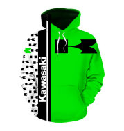 European And American New Cross-Border European And American Men'S Fashion Sports And Leisure Hooded Pullover Sweater Custom