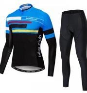 Men'S Long Sleeve Jerseys Set Customized