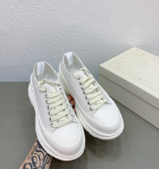 Daddy Shoes, Casual Sports Shoes, Thick-Soled Sponge Cake, Increased Mcqueen Canvas