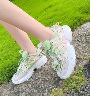 2021 New Korean Fashion Net Celebrity Platform Sneakers