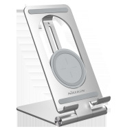 Wireless Charging Receiver Patch End, Fast Charging Stand, Foldable Portable Stand